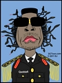 Gaddafi Medusa - Cartoon by EJ - Thumbnail