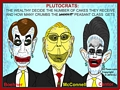 Putocrats - Boehner, McConnell and Cantor - Cartoon by EJ